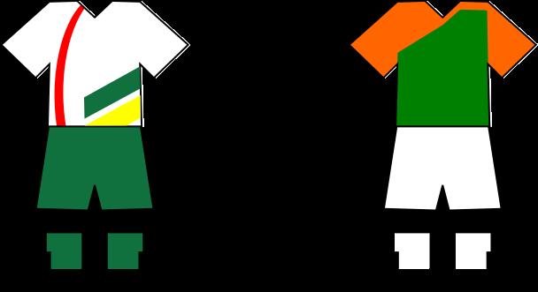 Uniforme Selección Carlense de Fútbol