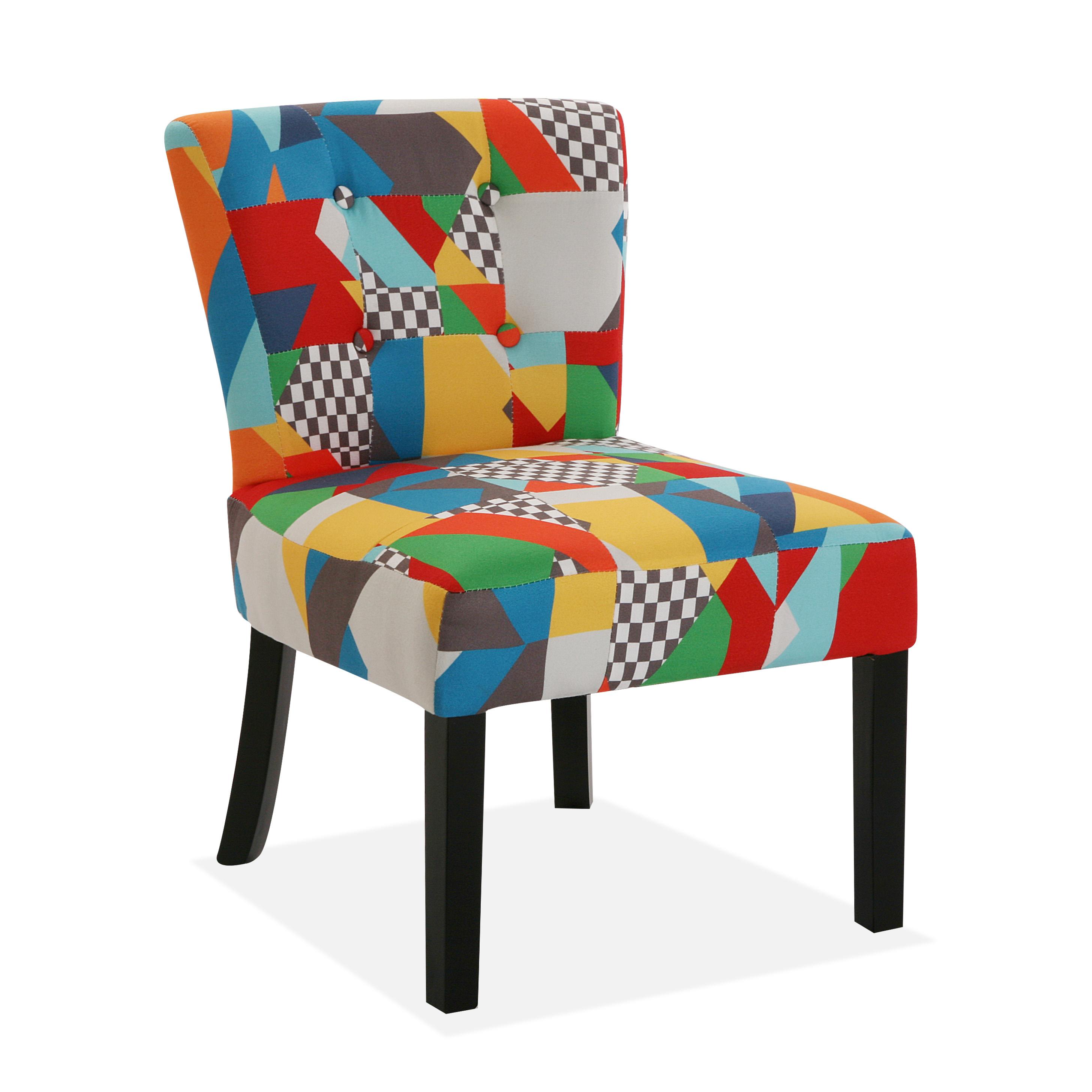 Versa Brais Silla cómoda acolchada y tapizada, 73x64x50cm